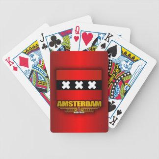 Flag of Amsterdam Poker Cards