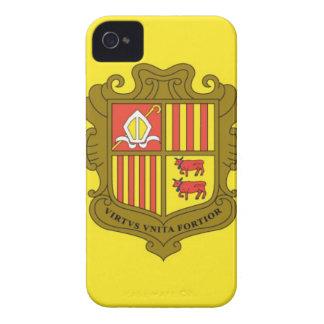 Flag of Andorra iPhone 4 Case-Mate Case