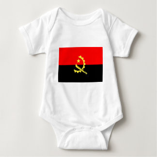 Flag of Angola Baby Bodysuit