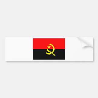 Flag of Angola Bumper Sticker