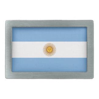 Flag of Argentina Belt Buckle