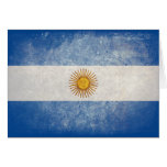 Flag of Argentina Cards