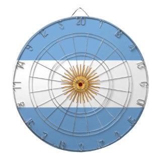 Flag of Argentina Dartboard