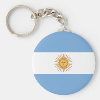 Flag of Argentina Key Ring
