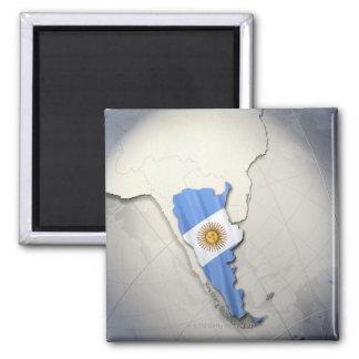 Flag of Argentina Magnet