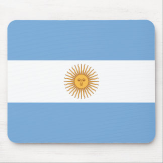 Flag of Argentina Mouse Mat
