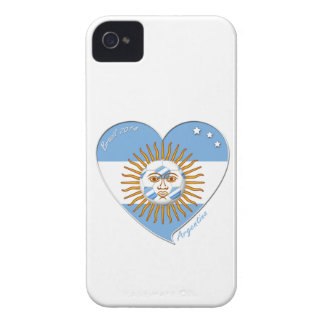 Flag of ARGENTINA national SOCCER May sun iPhone 4 Case