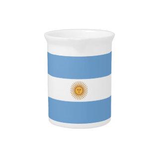 Flag of Argentina Pitcher