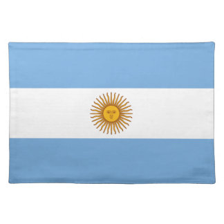 Flag of Argentina Placemat