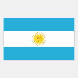 Flag of Argentina Rectangular Sticker