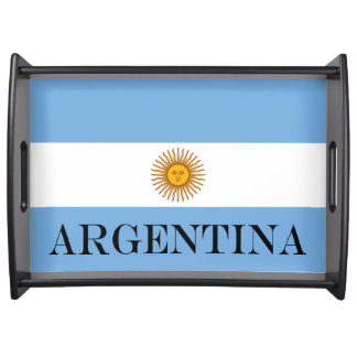 Flag of Argentina Serving Tray