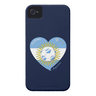 Flag of ARGENTINA SOCCER national team 2014 iPhone 4 Case-Mate Cases