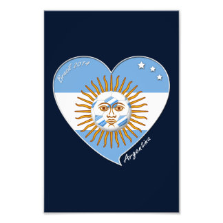Flag of ARGENTINA SOCCER selection wins Photo