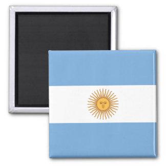 Flag of Argentina Square Magnet