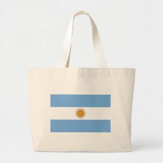 Flag of Argentina Jumbo Tote Bag