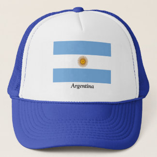 Flag of Argentina Trucker Hat