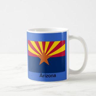 Flag of Arizona Basic White Mug
