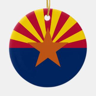 Flag of Arizona Christmas Ornament