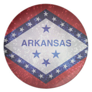 Flag of Arkansas Dinner Plates