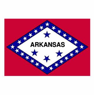 Flag of Arkansas Standing Photo Sculpture