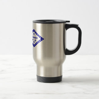 Flag of Arkansas. Travel Mug