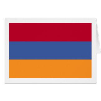 Flag of Armenia Card