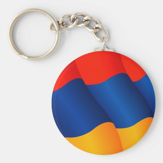 Flag of Armenia keychain