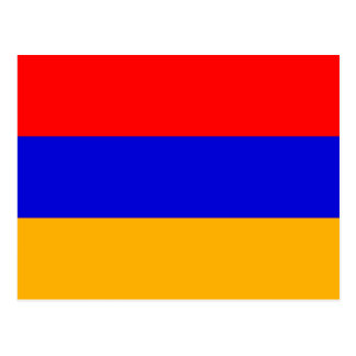 Flag of Armenia  Postcard