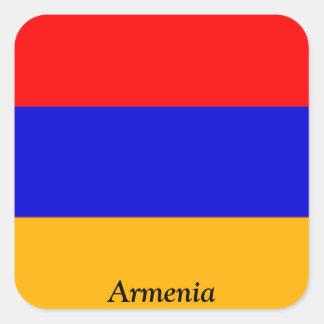 Flag of Armenia Square Sticker