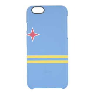 Flag of Aruba Clear iPhone Case