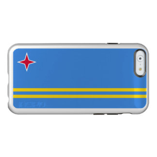 Flag of Aruba Silver iPhone Case Incipio Feather® Shine iPhone 6 Case
