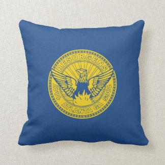 Flag of Atlanta, Georgia Cushion