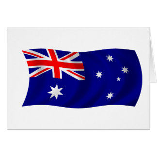 Flag of Australia Card