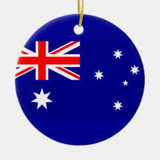 Flag of Australia Christmas Ornament