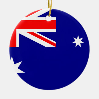 Flag Of Australia Christmas Ornament