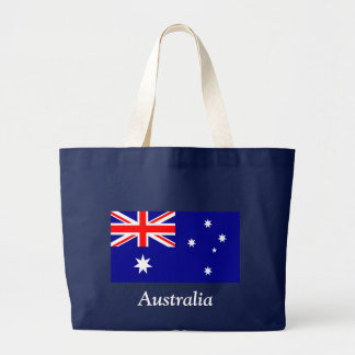 Flag of Australia Large Tote Bag
