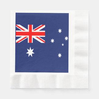 Flag of Australia Paper Napkins