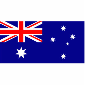 Flag of Australia Cut Out