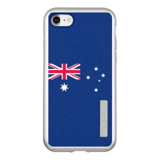 Flag of Australia Silver iPhone Case