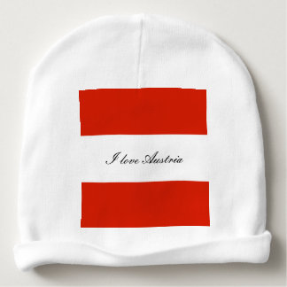 Flag of Austria Baby Beanie