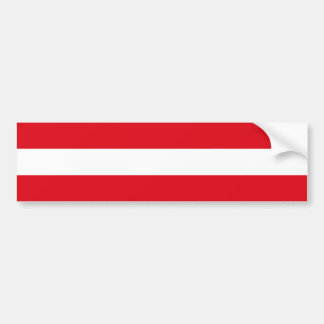Flag of Austria Bumper Sticker