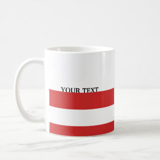 Flag of Austria Coffee Mug