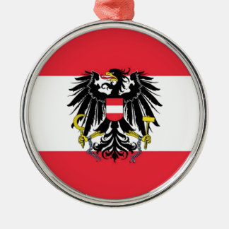 Flag of Austria - Flagge Österreichs Christmas Ornament