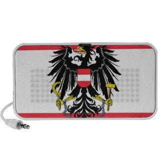 Flag of Austria - Flagge Österreichs iPod Speakers