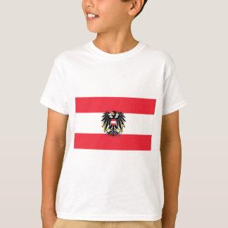 Flag of Austria - Flagge Österreichs T-Shirt