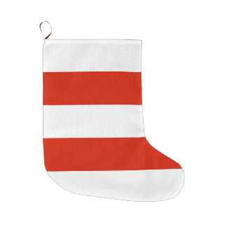 Flag of Austria Large Christmas Stocking