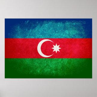 Flag of Azerbaijan Posters