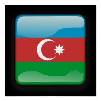 Flag of Azerbaijan Perfect Poster