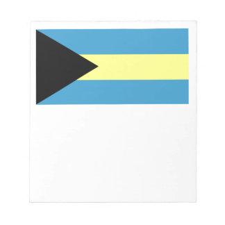 Flag of Bahamas Notepad