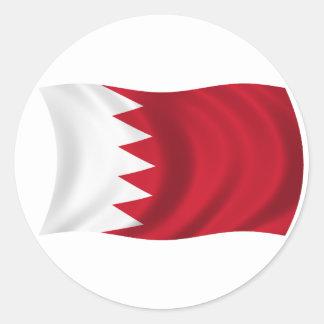 Flag of Bahrain Classic Round Sticker